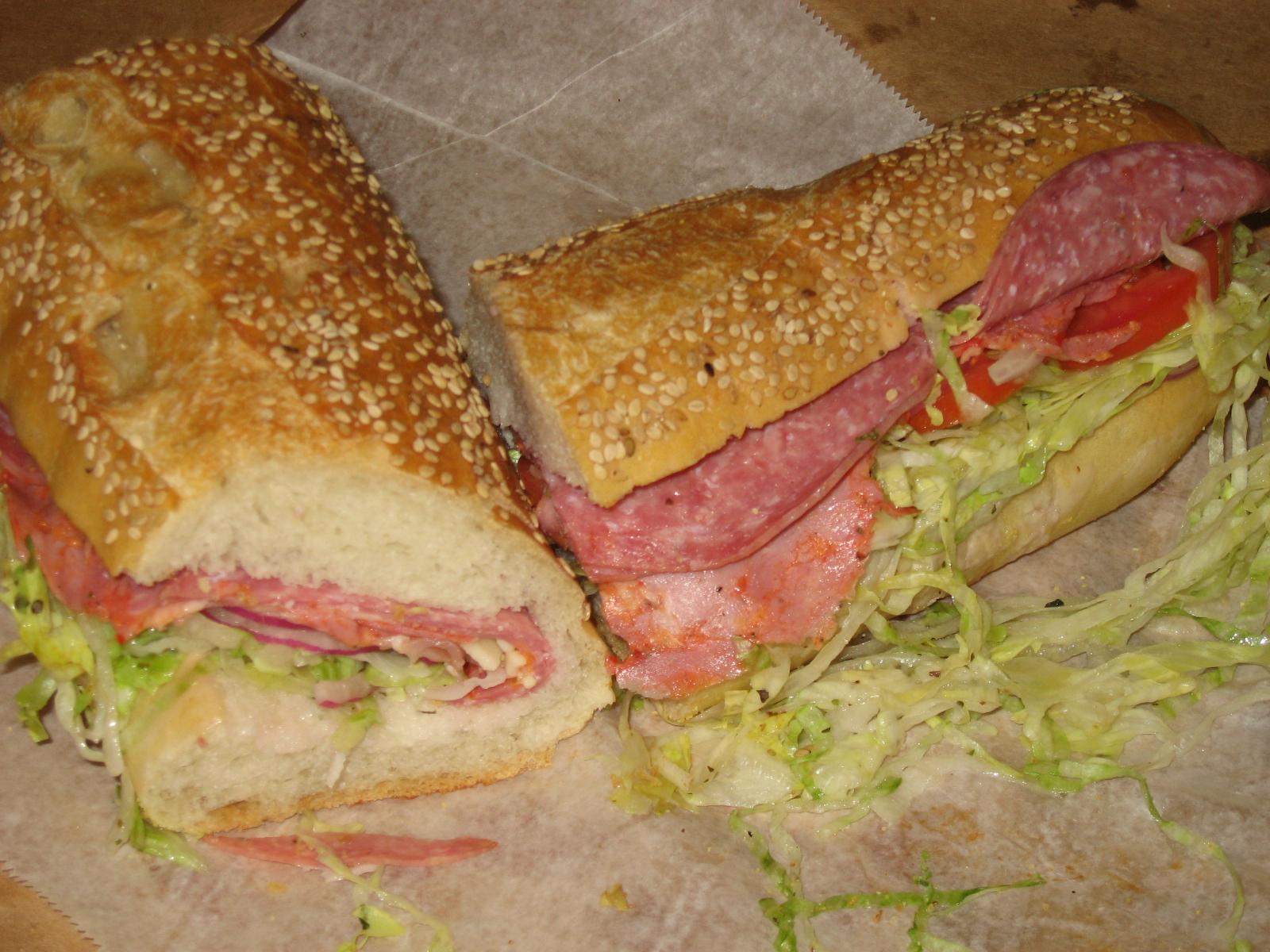 Greater DC Italian Sub Showdown   Good Eatin' In Wheaton