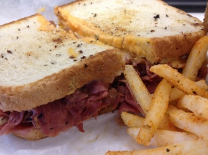 Ollie's Reuben & Fries