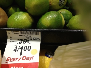 Wheaton Safeway has limes, so it must be okay