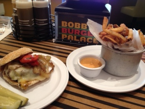Bobby Flay Burger and Fries Live!