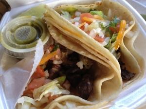 Tacos de Carne @ Rios