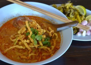 Khao Soi -- not from Nava, but it looks like this