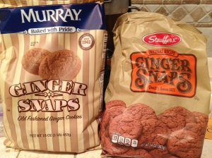 Murray's and Stauffer's Ginger Snaps