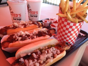 Hot Dog! Ted's.